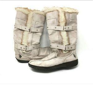 Shoes - Polo boots with fur inside